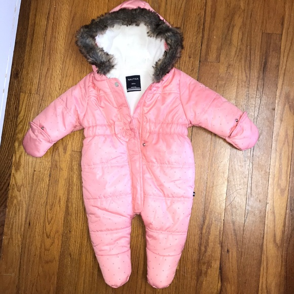 7c5a3a237 Nautica 3/6 month snow suit